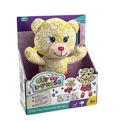 Out To Impress Colour Your Own Honey Bee Bear