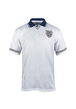 England Mens 1990 Home & Away Shirt - White