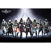 Assassins Creed Compilation Poster