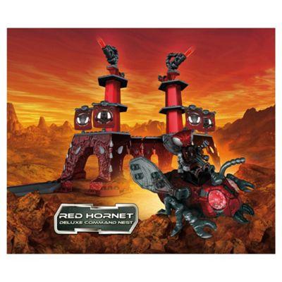 Character Building Construct-A-Bugz Red Hornet Command Nest