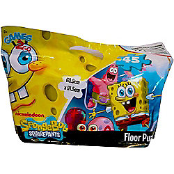 Spongebob Squarepants In a Foil Bag 45 Piece Jigsaw Puzzle Game