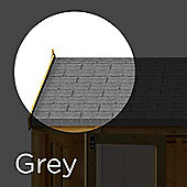 3 m² Grey Asphalt Roof Felt Tiles Shingles for Sheds, Log Cabins & Summerhouses