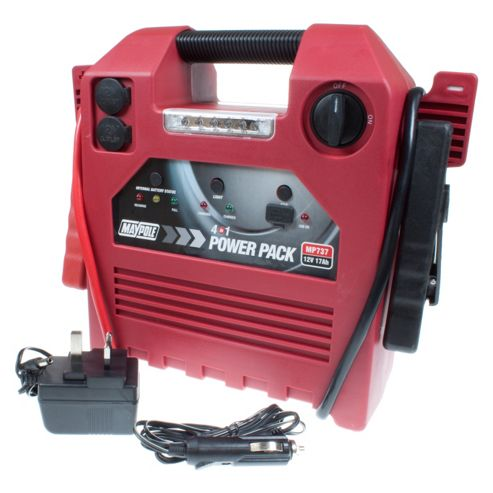 4 In 1 Power Pack / Jump Start, Portable Power, USB Power Supply and LED Torch