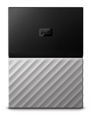 Western Digital My Passport Ultra 2000GB Black Grey external hard drive