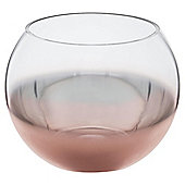 Tesco Metallic Ombre Glass Bowl Small