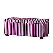 Sofa Collection Nova Storage Footstool - Purple