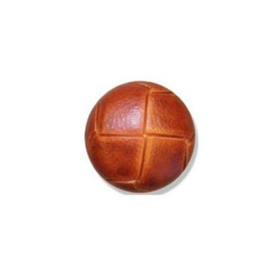 Impex Russet Leather Buttons 20mm 10pk
