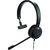 Jabra EVOLVE 30 Wired Mono Headset - Over-the-head - Supra-aural