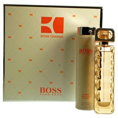 Hugo Boss Boss Orange 75ml Boss Orange Eau de Toilette and 200ml Body Lotion.