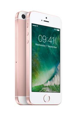 Apple SIM Free iPhone SE 128GB Rose Gold