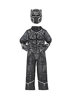Marvel Avengers Dark Panther Fancy Dress Costume - Black