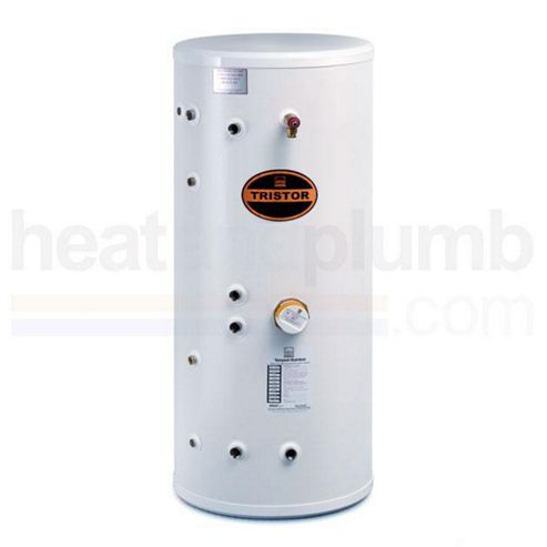 Telford Tristor SEALED SYSTEM Thermal Store Copper Cylinder Supplying Mains Pressure Hot Water 280 LITRES