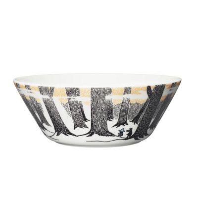 NEW Arabia Ceramic Moomin Bowl TRUE TO ITS ORIGINS 15cm