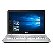 """Asus N552VX-FY304T Core i5 12GB 1TB HDD 128GB SSD nVidia GTX 950M 2GB Win 10 15.6"""" Silver Laptop"""