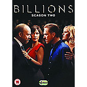 Billions: The Second Season DVD