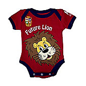 British & Irish Lions Rugby Baby Bodysuit - Red - Red