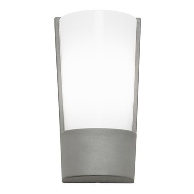 Keep 2 Light 9W Wall Light Aluminium Suitable For Outdoor Use