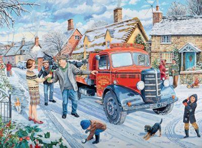 Happy Days at Work - The Coalman - 500pc Puzzle