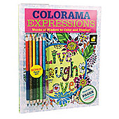 JML Colorama Colouring Books For Adult with Inspirational Designs