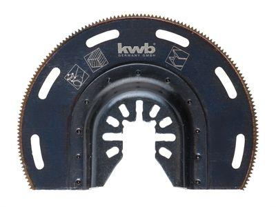 KWB ENERGY SAVING Plunge-Cut Radial Blade Bi-Metal 87mm