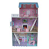 Liberty House Townhouse Dollhouse with Furniture