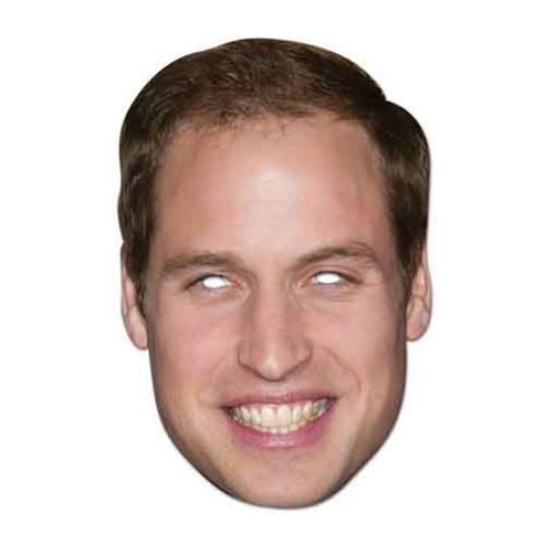 Celebrity Masks - Prince William