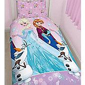 Disney Frozen 4 Piece Single Bedding Bundle - Magic