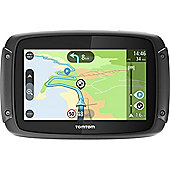 TomTom Rider 420│Motorcycle GPS SatNav-Navigation│Lifetime Europe Maps+Traffic