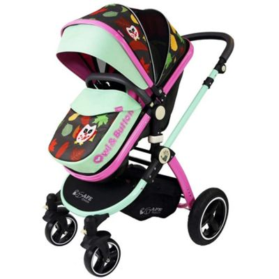 iSafe Limited Edition Pram System Pushchair (Button Owl)