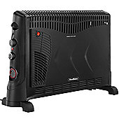 VonHaus 2000W Convector Heater with Free 2 Year Warranty, 3 Heat Settings, Turbo Function & Timer