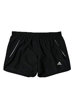 adidas Sequencials ClimaLite Womens Running Fitness Short Black - Black