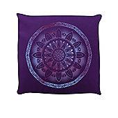 Mulberry Mandala Purple Cushion 40x40cm