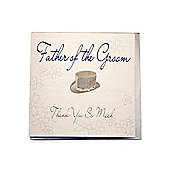 Bliss Wedding - Father of the Groom Wedding Card