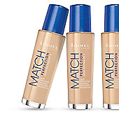 Rimmel London Match Perfection Foundation Light Nude (102)