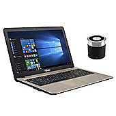 "ASUS VivoBook X540LA-XX194T 15.6"" Laptop Intel Core i7-5500U 8GB 1TB Win 10 With Mini Portable Speaker"