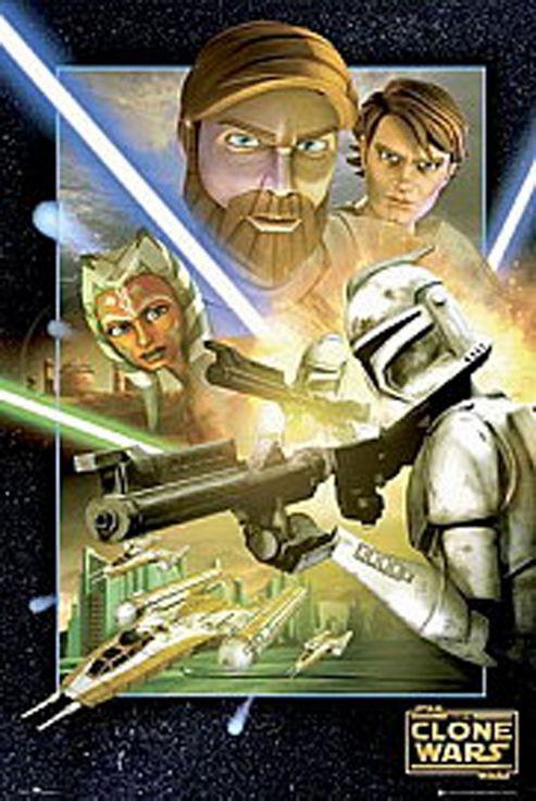 Star Wars - Clone Wars - Series 2 Vol 1 (DVD Boxset)