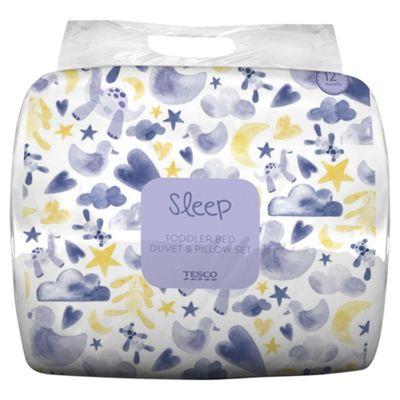 Tesco Baby Duvet & Pillow Set