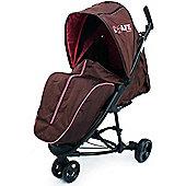 iSafe Visual 3 Stroller (Raspberry Cake)