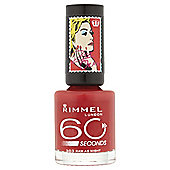 Rimmel 60 Seconds Rita Ora Nail Polish Raw As Night