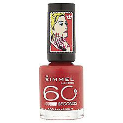 Rimmel 60 Seconds Rita Ora Nail Polish Raw As Night