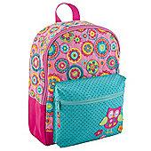 Toddler Backpacks, Kids Backpacks, Quilted Toddler Rucksack - Owl