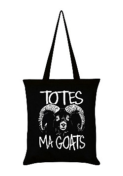 Totes Ma Goats Tote Bag 38x42cm Black