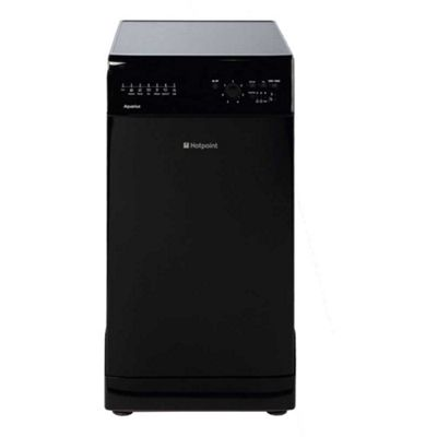 Hotpoint Aquarius Slimline Dishwasher SIAL 11010 K - Black