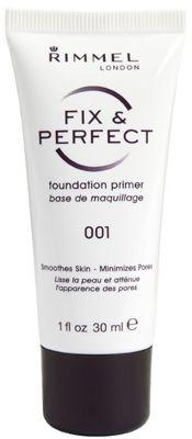 Rimmel Fix & Perfect Foundation Primer - 001 - 30ml