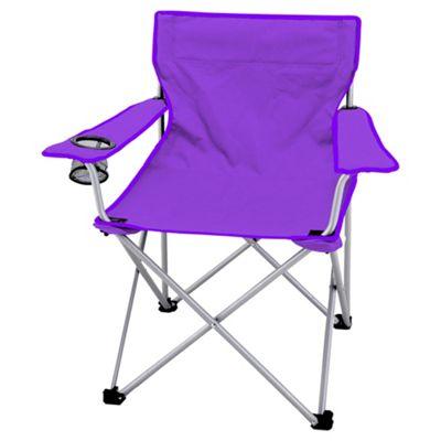 Tesco Purple Folding Camping Chair