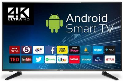 Cello C43ANSMT-4K 43 Inch 4K UHD Android Smart LED TV with Freeview T2 HD
