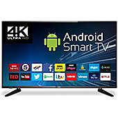 "Cello C43ANSMT-4K 43"" 4K UHD Android Smart LED TV with Freeview T2 HD"