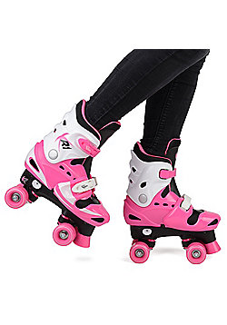 Loch Girls' Adjustable Roller Skates UK 10-12