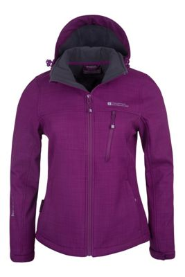 Mountain Warehouse Helsinki Womens Softshell Jacket ( Size: 14 )