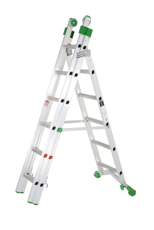 TB Davies Industrial Aluminium 2.5m Combination Ladder